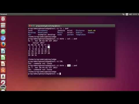 Linux Command Line Tutorial For Beginners 33   How to Run multiple Terminal Commands