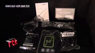katak & ulat: Acer Liquid Z520 (unboxing)