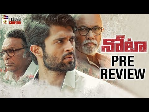 NOTA Movie PRE REVIEW | Vijay Devarakonda | Mehreen Kaur | Anand Shankar | Mango Telugu Cinema
