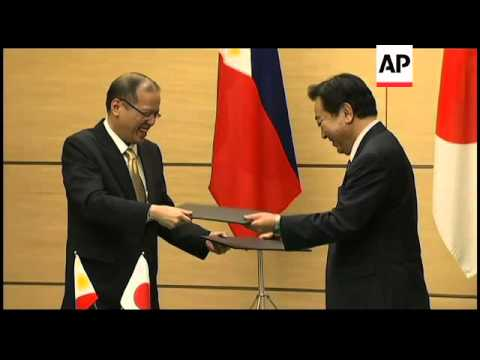 Japan, Philippines agree to increase maritime security