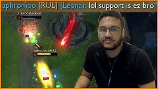 """Aphromoo : """"Support is Easy Bro"""" - Best of LoL Streams #310"""