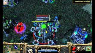 Warcraft 3 Frozen Throne - Undead Campaign Speedrun By Jury Rosenkilde Part 05