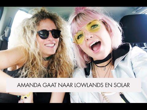 Vlog #20 : Amanda gaat naar Lowlands en Solar