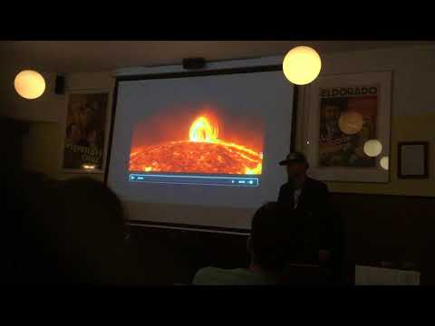 Pint of Science 2018, Space Weather, Utrecht, The Netherlands