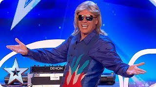 FIRST LOOK: DJ Murray Mint gets the party started   BGT 2018