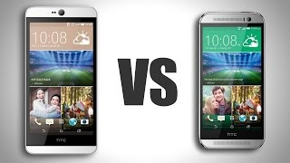 HTC Desire 826 Vs. HTC One M8