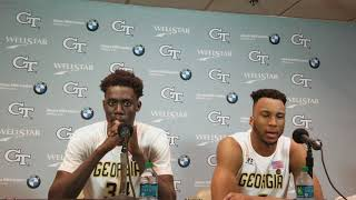 GT players post Clemson