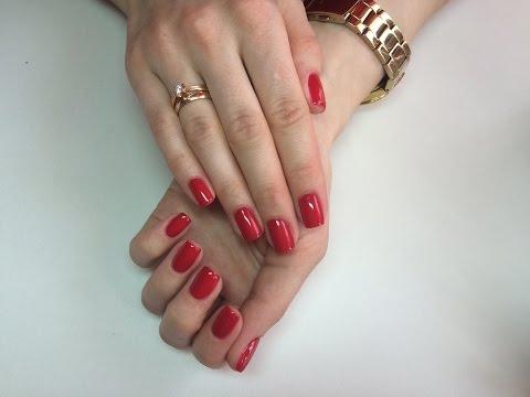 Покрытие ногтей гелием в домашних условиях