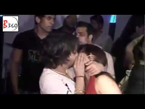 Mika Singh Kisses Rakhi Sawant In Public - Exclusive Footage