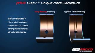 King Race Bearings pMAX Black tri-metal structure