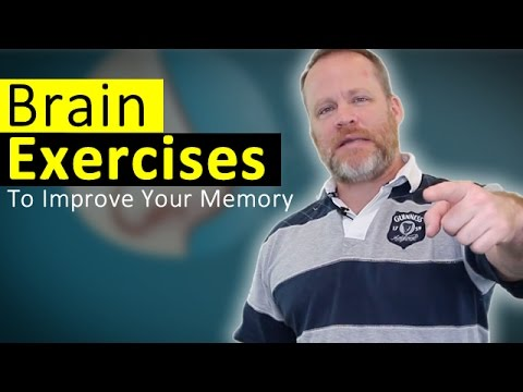 Brain Exercises - Weird Memory Workouts To Improve Your Memory