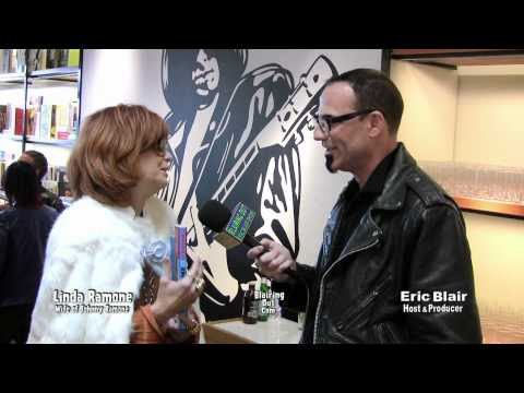 Johnny Ramone's wife Linda Ramone talks about Johnny's autobiography Commando w Eric Blair