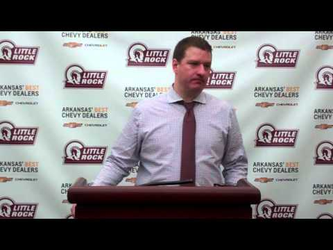 Chris Beard Arkansas State Post-Game (March 1, 2016)