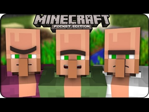 Minecraft Pocket Edition MCPE 0.9.0 SURVIVING OUR FIRST NIGHT MCPE UPDATE