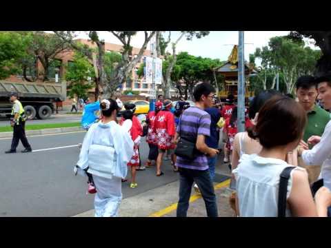 20140727 台北日僑學校 夏祭 大名行列