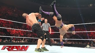 John Cena vs. Neville – United States Championship Match: Raw, May 11, 2015