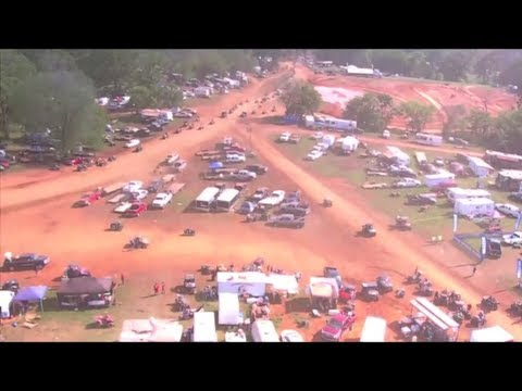 Highlifter Mud Nationals 2012 Sandpit Highline Aerial View Helicopter Ride! Nats!
