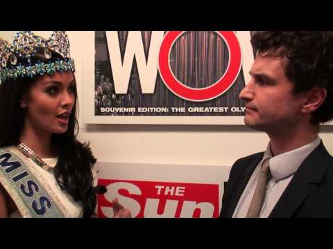 Miss World Supports The Sun's Philippines Fundraising Campaign