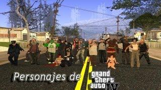 Como Poner Personajes Mas Reales en El Gta San Andreas Pc 2013 (loquendo)