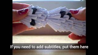 How To Make 3d Origami Snowmen (part 2)