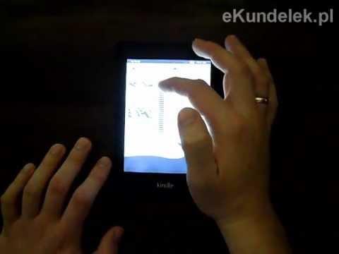 Pierwsze uruchomienie Kindle Paperwhite, wstęp do testów