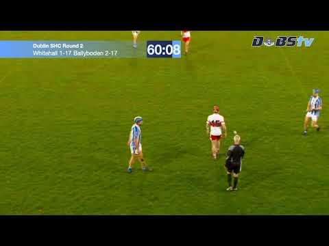 Dublin SHC 'A' Round 2 - St. Vincents v Craobh Chiarain