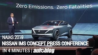 Nissan IMs Concept Press Conference in 4 minutes at NAIAS 2019