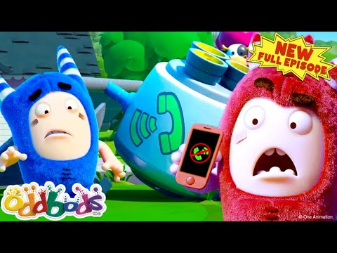 ODDBODS | A Day Without Phone Signal | NEW Full Episode | Cartoon For Kids
