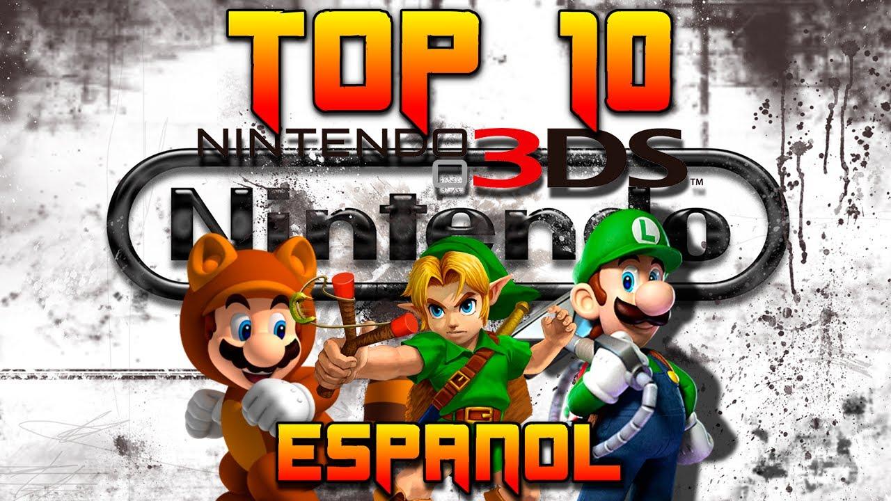 TOP 10 Juegos Nintendo 3DS - YouTube