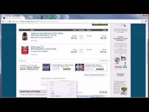 Bodybuilding.com Coupon Codes 2012 - How to use online coupons to save on your order