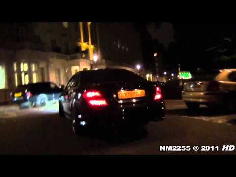 Decatted Mercedes C63 AMG BRUTAL SOUND