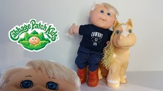 Cabbage Patch Kid Review Meet Caiden Carlo