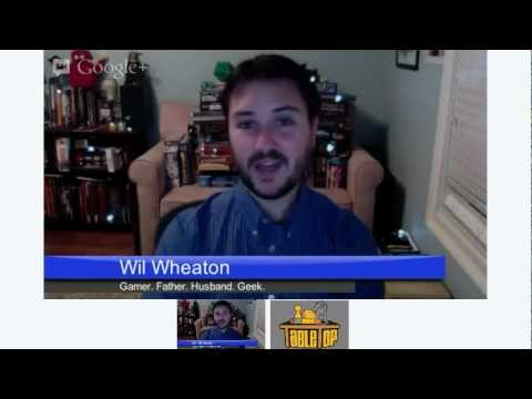 TableTop Hangout with Wil Wheaton
