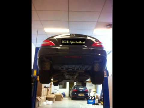 Mercedes Benz CLS-Klasse Amg RVS Sport Uitlaat