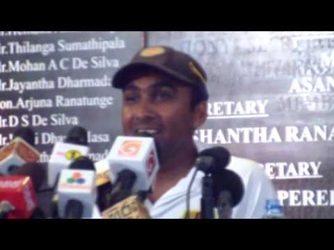 Mahela Jayawardene farewell address - Press Conference