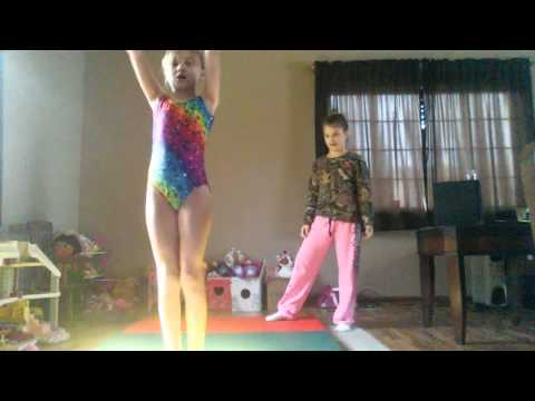 Star teaching Kendell Gymnastics