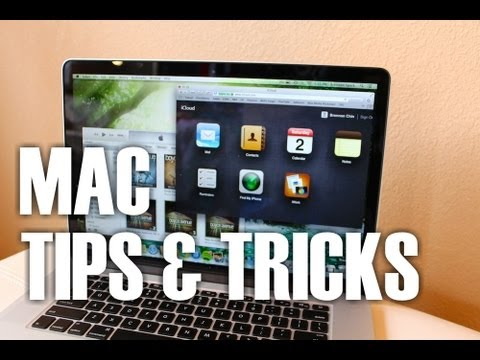 Mac Tips and Tricks for iMac and MacBook (OS X Mountain Lion)