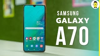 Samsung Galaxy A70 hands-on review and unboxing: one for the YouTube generation [India retail unit]