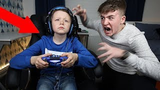 MY LITTLE BROTHER IGNORED ME FOR 24 HOURS!! *Gone Too Far*