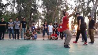 Robopop vs Andres Ramos - Street Battles, ObSon