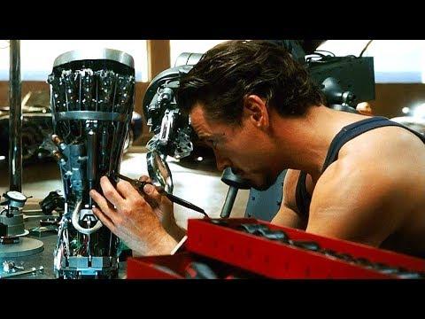 Iron Man - Making the Mark II Armor - First Test Scene - Iron Man (2008) Movie CLIP HD