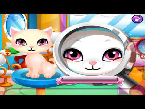 Stray Kitty Care ! Pet Care Game ! Game For Kids ! Funny Game !