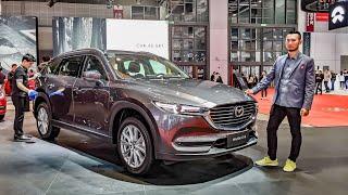 Chi tiết Mazda CX8 2019 - Phiên bản 7 chỗ của CX5 sắp ra mắt Việt Nam | XE HAY