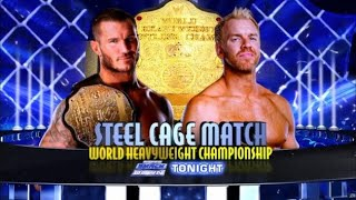 Randy Orton vs Christian - Steel Cage Match Highlights HD World Heavyweight Championship