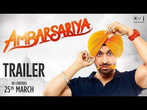 Ambarsariya Trailer - Diljit Dosanjh, Navneet, Monica, Lauren, Gul Panag | 25th March 2016