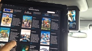 Mobile Theater in our Honda Odyssey using Raspberry Pi, Kodi ( XBMC ), Constellation and an iPad