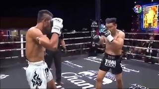 មកមើលរាង សៃយុគ សន្លប់តិចមើល - SAIYOK (thai) vs CHANAJON (thai) Thai Fight 27 January 2018