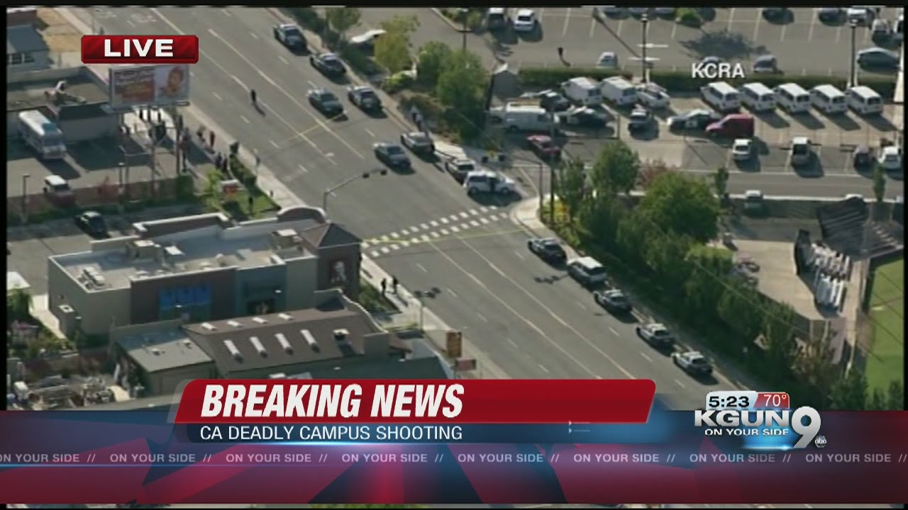 3 shot, 1 killed at Sacramento college, campus on lockdown
