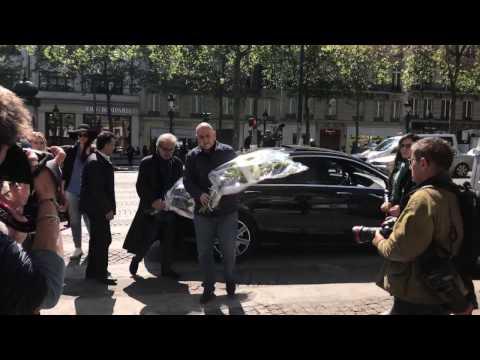 Khatab rend hommage à un policier français