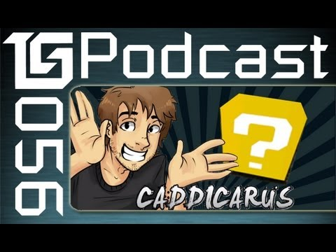 TGS Podcast #56 Featuring Caddicarus hosted by TotalBiscuit, Dodger, and Jesse Cox
